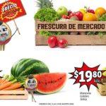 Folleto Soriana Mercado Frutas y Verduras del 11 al 13 Agosto 2020