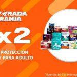 La Comer Temporada Naranja 2020 3x2 en incontinencia y protección femenina