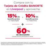 Liverpool - Gran Barata de Verano Hasta 60% de descuento + 15% de bonificación con Banorte