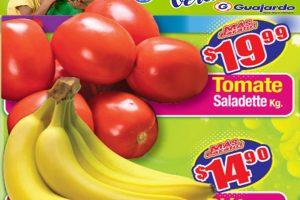 Ofertas Super Guajardo frutas y verduras 4 y 5 de agosto 2020