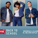 Promoción Levis Back to School: 3x2 o hasta 40% de descuento