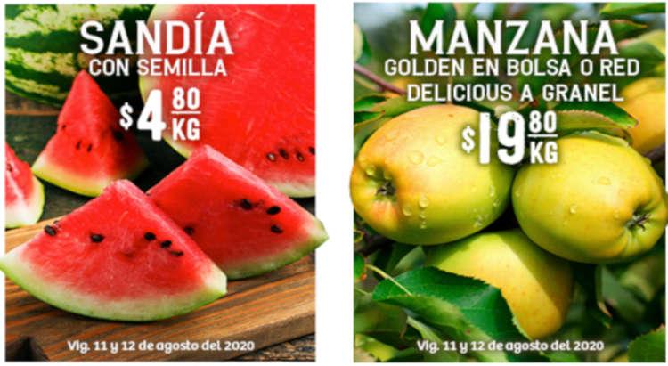 Folleto Soriana Martes y Miércoles del Campo 11 y 12 de Agosto 2020