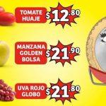 Folleto Soriana Mercado frutas y verduras 1 al 3 de Septiembre 2020