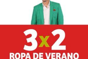 Julio Regalado 2020: 3×2 ropa de verano para toda la familia