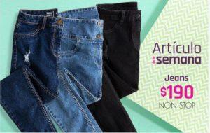 Artículo de la Semana Suburbia Jeans Non Stop del 3 al 9 de agosto