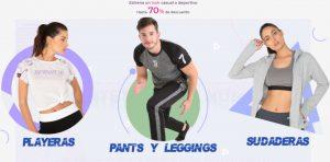 Suburbia tenis y ropa deportiva con hasta 70% de descuento + 7 MSI