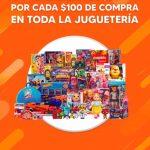 La Comer Temporada Naranja 2020: $30 de descuento por cada $100 de compra en juguetería