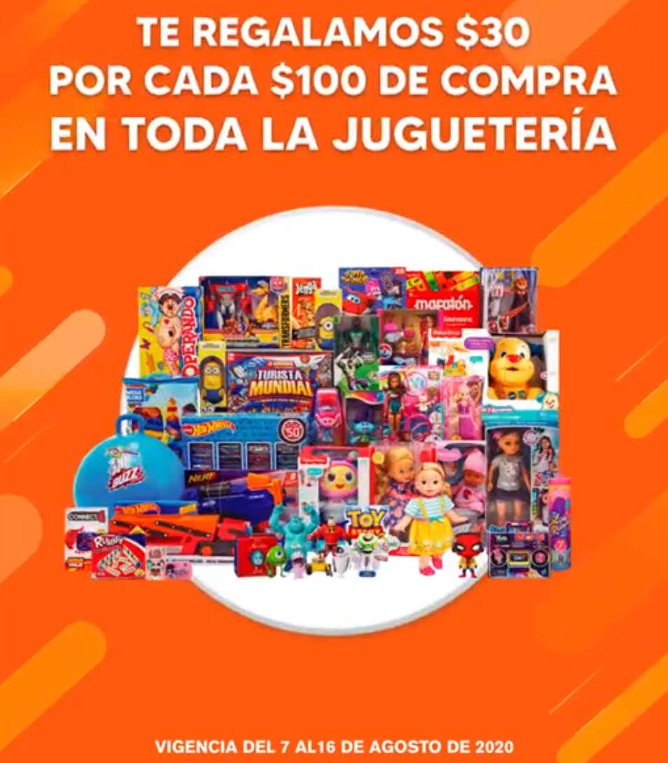 Temporada Naranja 2020: $30 de descuento por cada $100 de compra en juguetería