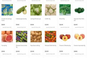 Folleto Bodega Aurrerá frutas y verduras Tianguis de Mamá Lucha 14 al 20 de agosto 2020
