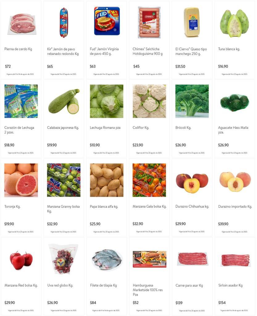 Ofertas Bodega Aurrerá frutas y verduras Tianguis de Mamá Lucha 14 al 20 de agosto 2020