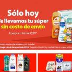 Walmart en línea: Envió Gratis Súper Jueves 6 Agosto de 2020