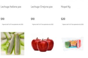 Bodega Aurrerá - Tianguis de Mamá Lucha frutas y verduras 14 al 17 de septiembre 2020