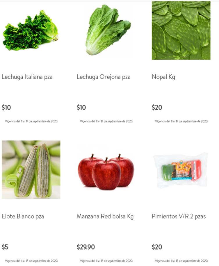 Bodega Aurrerá – Tianguis de Mamá Lucha frutas y verduras 14 al 17 de septiembre 2020