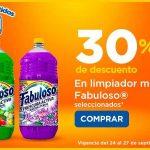 Chedraui: 30% de descuento en limpiador multiusos Fabuloso