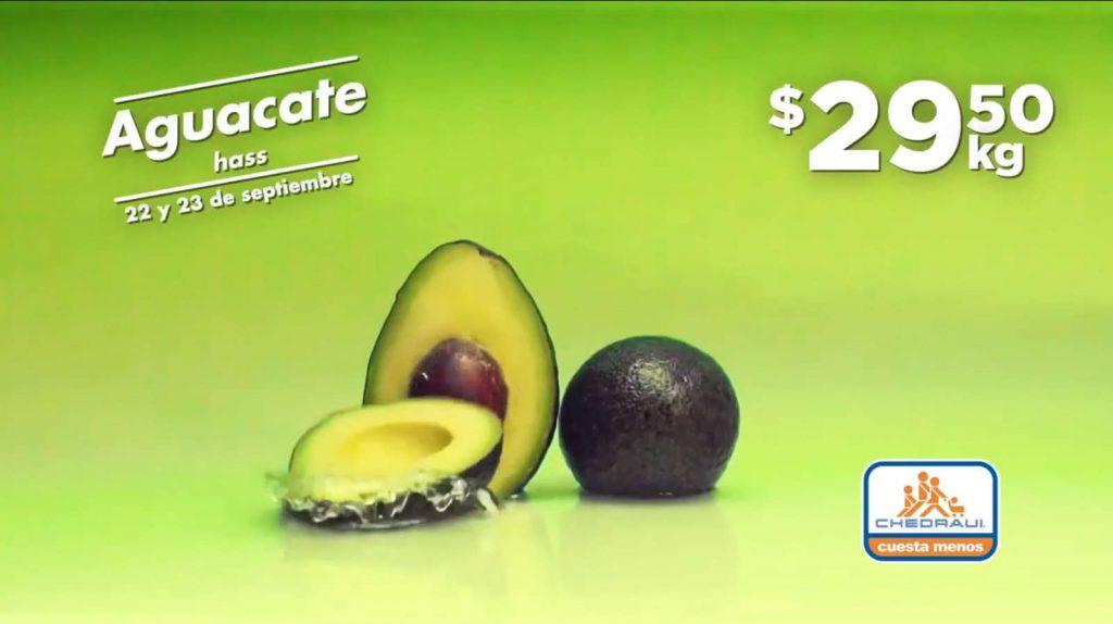 Frutas y Verduras Chedraui 22 y 23 de septiembre 2020
