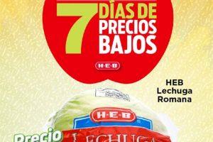 Folleto HEB frutas y verduras del 8 al 14 de septiembre de 2020
