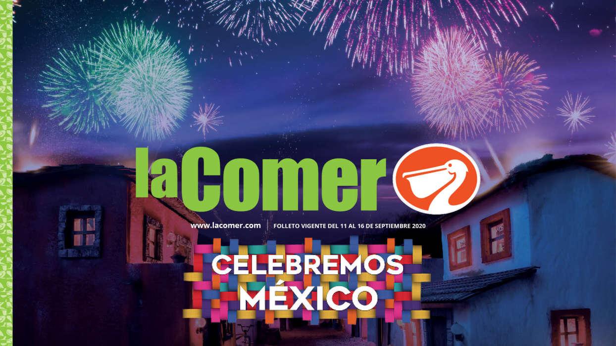 Folleto La Comer Celebremos México 11 al 16 de septiembre 2020