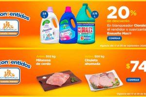 Ofertas Chedraui Los Consentidos y Carnes 18 al 20 de septiembre 2020