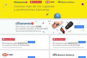 Mercado Libre: Cupones de descuento con Banamex, Banorte, HSBC y más
