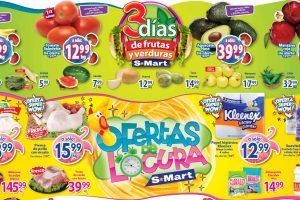 Folleto S-Mart frutas y verduras del 22 al 24 de septiembre de 2020