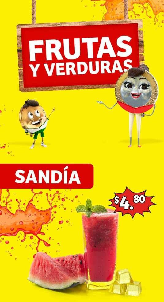 Soriana Mercado – Frutas y Verduras del 22 al 24 de septiembre de 2020
