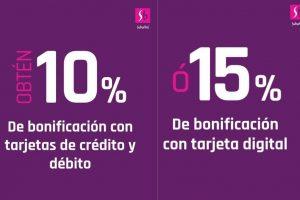 Suburbia: Hasta 15% de bonificación con tarjetas Santander