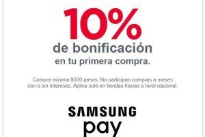 Banorte: 10% de bonificación al asociar tus tarjetas a Samsung Pay