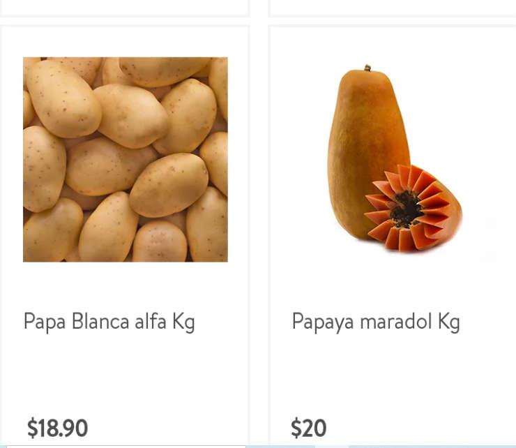 Folleto Bodega Aurrerá frutas y verduras del 16 al 22 de octubre 2020