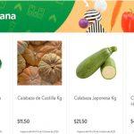 Folleto Tianguis Bodega Aurrerá frutas y verduras 12 al 15 de octubre 2020