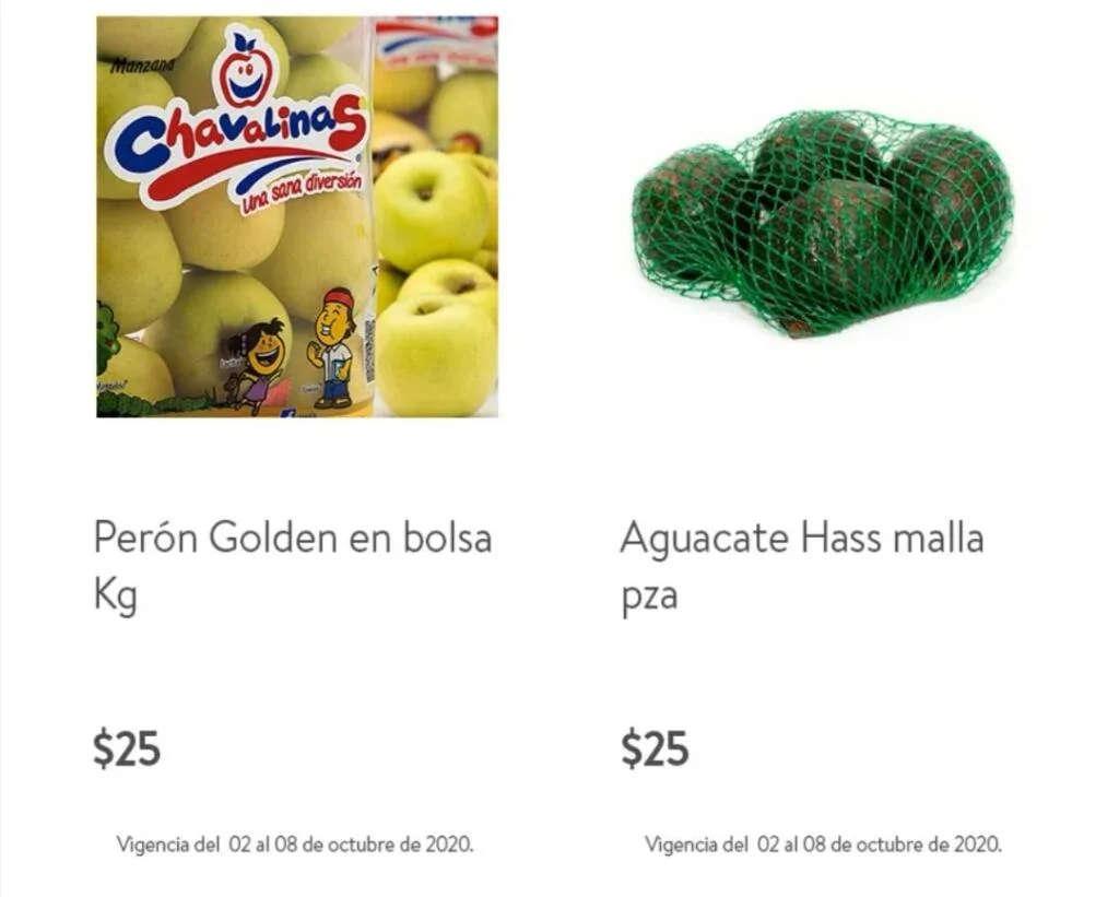 Folleto Bodega Aurrerá frutas y verduras 6 al 8 de octubre 2020