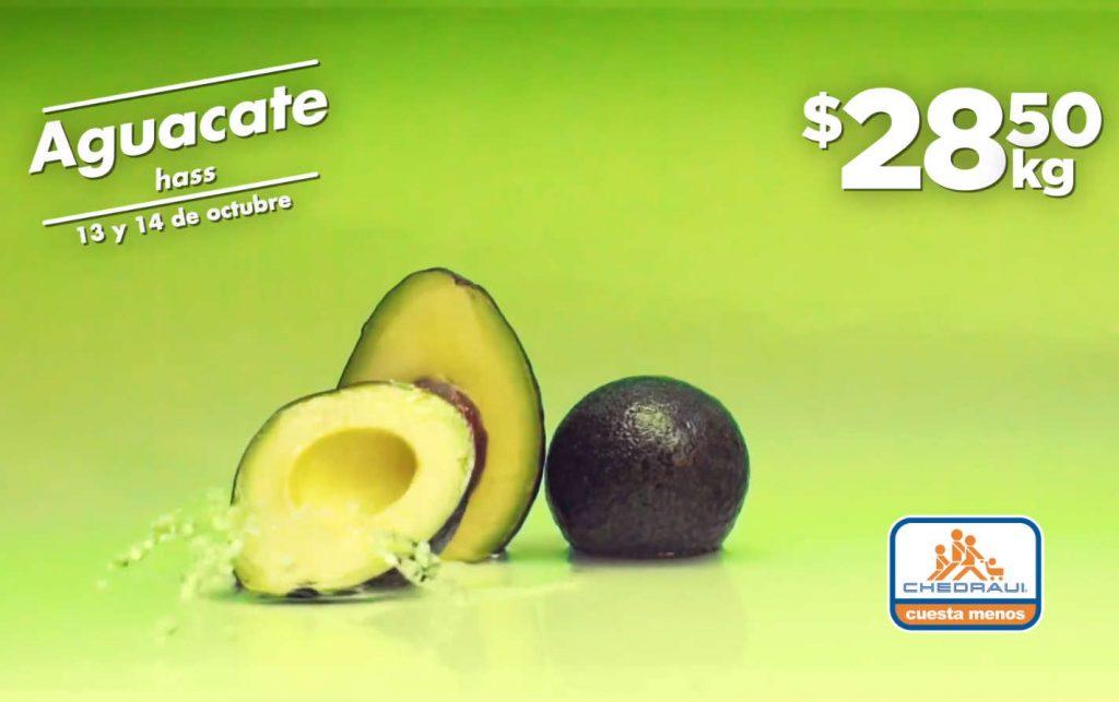 Frutas y Verduras Chedraui 13 y 14 de octubre 2020