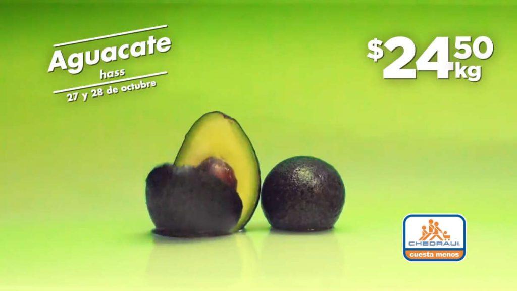 Frutas y Verduras Chedraui 27 y 28 de octubre 2020