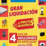 Gran Liquidación Walmart 2020: Precios increíbles en artículos desde $30