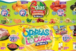 Folleto S-Mart frutas y verduras del 13 al 15 de octubre 2020