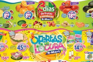 Folleto S-Mart frutas y verduras del 20 al 22 de octubre 2020