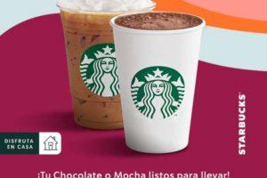 Starbucks: Cupones de 2×1 en Chocolate o Mocha