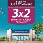 El Buen Fin 2020 en Sherwin Williams Pintura al 3x2
