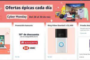 Amazon México Cyber Monday 2020: Ofertas y promociones
