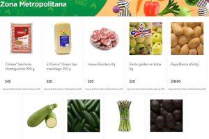 Folleto Tianguis Bodega Aurrerá frutas y verduras 7 al 12 de noviembre 2020