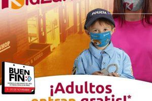 El Buen Fin 2020 KidZania: Adultos gratis comprando boleto de niño