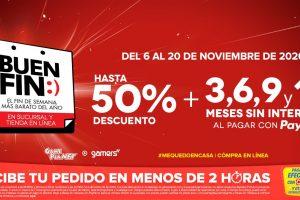 El Buen Fin 2020 en GamePlanet y Gamers: Hasta 50% de descuento