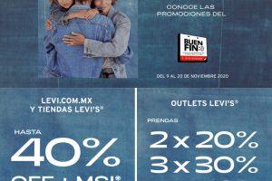 El Buen Fin 2020 en Levi's: Hasta 40% de descuento
