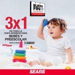 Sears Buen Fin 2020: 3x1 en ropa interior para bebés y preescolar