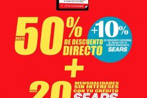 Folleto Sears Buen Fin 2020: Ofertas y promociones
