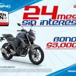 Yamaha Buen Fin 2020: 24 Meses Sin Intereses + Bono de $3,000