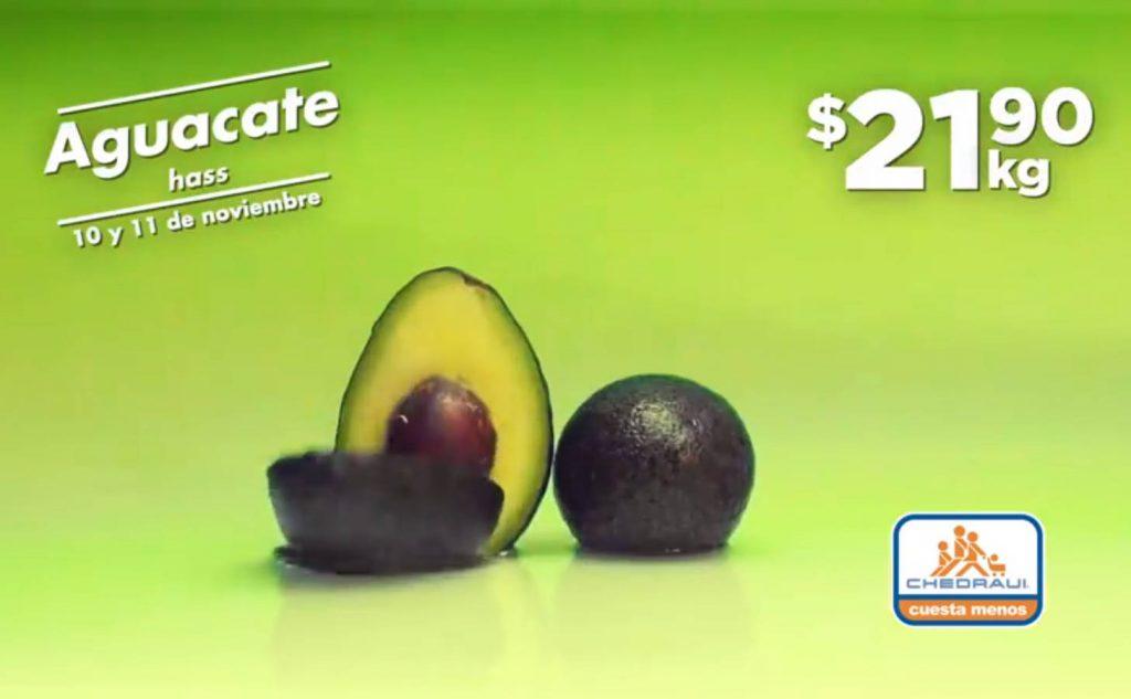 Frutas y Verduras Chedraui 10 y 11 de noviembre 2020