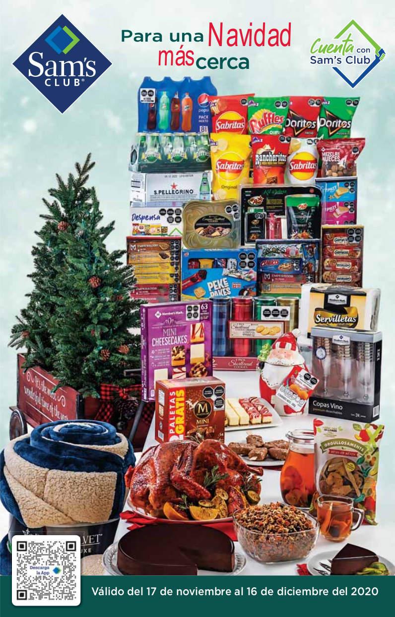 Cuponera Sams Club Navidad 17 de noviembre al 16 de diciembre 2020