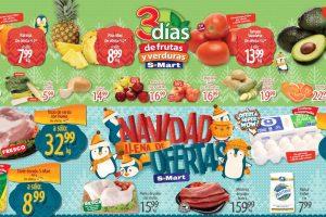 Folleto S-Mart frutas y verduras del 3 al 5 de noviembre 2020