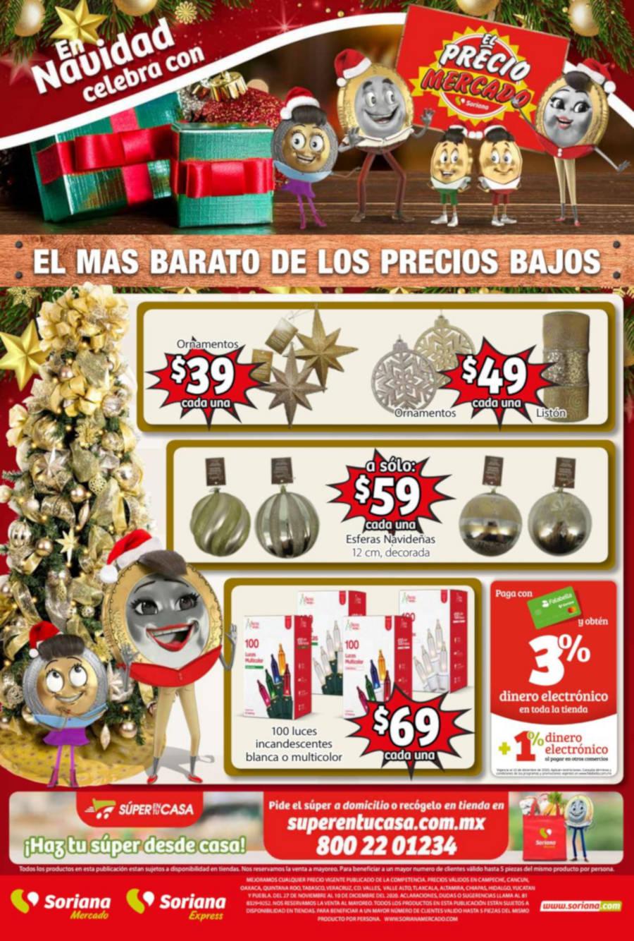 Soriana Mercado Folleto de Navidad al 18 de diciembre 2020