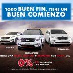 Kia Buen Fin 2020: Ofertas y promociones en Autos